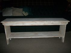 rustic primitive wooden items | Primitive Rustic Hand Made Wooden 48 Inch / 4 Foot Long Farm House ...