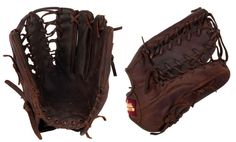 "11 1/2"" Six Finger Web Shoeless Joe Infielder's Baseball Glove - 1150SFR - Handmade and Broken-In"