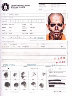Suicide Squad El Diablo Chato Santana CIA file
