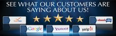 What Our Customers are Saying About Us!