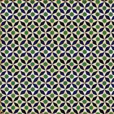 Chinese Stars Mosaic Tile