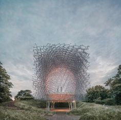The Hive | Wolfgang Buttress | Archinect. art installation. public art
