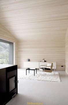 Небольшой дом в Австрии от дизайнерской студии Sven Matt | Мебель для Вашего дома