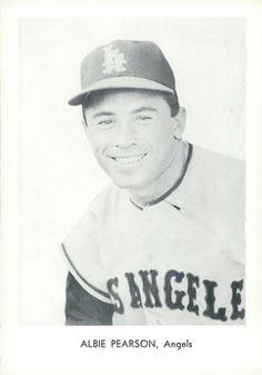 1961 Sports Service Los Angeles Angels #NNO Albie Pearson Front