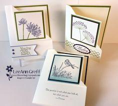 Corner Fold 'Fun Fold' Card