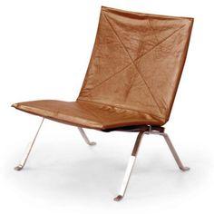 Schön Kardiel PK22 Modern Armless Lounge Chair   PK22 ARCTICWHITE