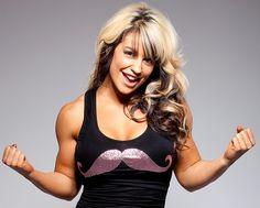 WWE Diva Kaitlyn (Celeste Bonin)