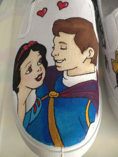 Custom Disney shoes - Made to order and ship worldwide