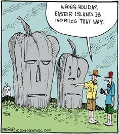 Strange Brew by John Deering for October 2014 - GoComics Halloween Cartoons, Halloween Humor, Bizarro Comic, Funny Jokes For Adults, Fall Halloween, Halloween Ideas, Funny Cartoons, Super Funny, Comic Strips