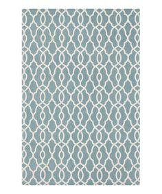 Take a look at the Stormy Blue Felix Rug on #zulily today!