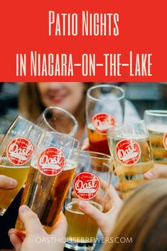 Nestled in beautiful Niagara-on-the-Lake is Oast House Brewers' two-story patio! This sustainably constructed patio from old shipping containers is the perfect way to kick off the summer patio season while enjoying our craft beer all made in-house. Shipping Containers, Craft Beer, Brewery, Wines, Patio, Summer, House, Beautiful, Summer Time
