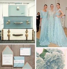 THE LUCY CHASE PROJECT // Blue Colour Palette for wedding inspiration