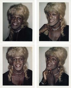 itsjessegurl:I was watching the Stonewall Uprising documentary and the name Marsha P. Johnson was not mentioned once considering she was a leader of the 1969 Stonewall Riots. So I felt like posting these Polaroids of her taken by Andy Warhol to show remembrance of her as the significant trailblazer that she was in making the Stonewall Riots happen. It'll be 46 years since the riots on June the 28th and 45 years since the first gay pride march took place in New York City as a result of the…