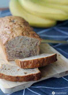 Leckerschmecker: Bananen Nuss Brot mit Honig! Perfekt um alte Bananen zu verwerten - schmeckt super als Proviant für Ausflüge und Citytrips.