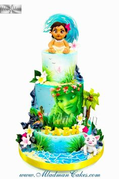 Moana Cake by MLADMAN