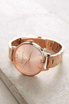 Olivia Burton Reign Rose Gold Watch