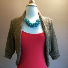 """Short sleeve woven tan shrug Beautiful cotton/nylon woven shrug from NY & Co. Perfect light layering piece. In mint condition. Short sleeve. Open front. Shawl neck. Approx 17""""L. 19"""" across bust laying flat. Size Mediuk, fits true to size. New York & Company Sweaters Shrugs & Ponchos"""