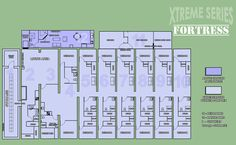 underground+shelters+and+home+floor+plans | Xtreme Series Fallout Shelter The Fortress