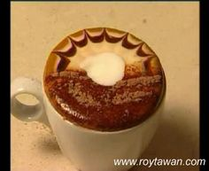 How to do those awesome coffee foam designs :)