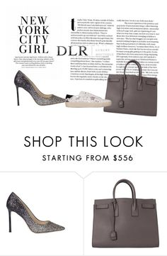 """""""DLRBOUTIQUE.COM"""" by ivana-324 ❤ liked on Polyvore featuring Jimmy Choo and Yves Saint Laurent"""