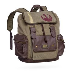 Loungefly x Star Wars Rogue One Rebel Alliance backpack at ThinkGeek ⭐️ Star Wars fashion ⭐️ Geek Fashion ⭐️ Star Wars Style ⭐️ Geek Chic ⭐️
