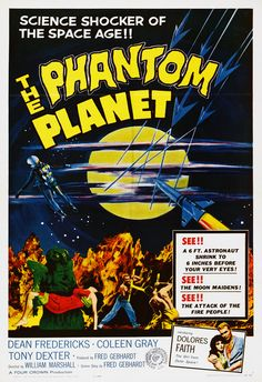 "The Phantom Planet (1961) ""O Planeta Fantasma"""