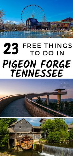 I LOVE the Smoky Mountains area! I've been here many times and didn't know about many of these free things to do in Pigeon Forge Tennessee! Pigeon Forge Tennessee Cabins, Pigeon Forge Tn, Tennessee Hiking, Tennessee Vacation, Nashville Tennessee, East Tennessee, Vacation Places, Vacation Trips, Vacation Spots