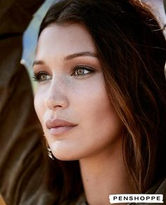 """Bella Hadid for Penshoppe's """"Generation Now"""" campaign. Bella Gigi Hadid, Bella Hadid Style, Bella Hadid Nose, Img Models, Role Models, Isabella Hadid, Plastic Surgery, Natural Makeup, Foto E Video"""