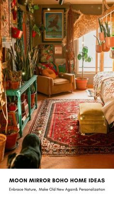 Bohemian Bedroom Decor, Boho Decor, Bohemian Apartment, Bohemian Room, Bohemian Interior, Bohemian Living, Vintage Bohemian, Cosy Home, Aesthetic Room Decor