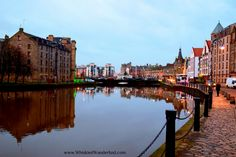 The Shore, at the mouth of the Water Of Leith, in Edinburgh.