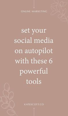 Tired of spending hours each week promoting your content on social media? These 6 powerful social media automation tools will save you time and grow your blog on autopilot! | Social Media Marketing Tips | Social Media Tips | Marketing Social Media | Social Media Resources | Social Media and Marketing | Social Media Strategy | Marketing Automation | Business Automation Tips | Pinterest Automation | Twitter Automation | Facebook Automation | Instagram Automation | Social Media Scheduling | #Social