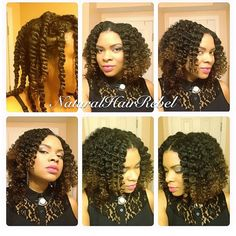 @naturalhairrebels chunky two strand twistout!