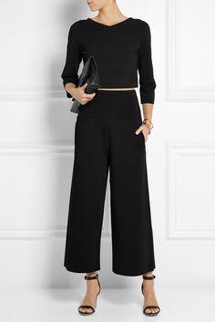 Schwarzer Jersey Ohne Verschluss 83 % Rayon, 17 % Polyester; Taillenbund: 74 % Rayon, 13 % Polyamid, 11 % Polyester, 2 % Elastan Trockenreinigung
