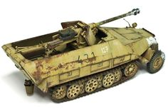 Sd.Kfz.251/22 Ausf.D Pakwagen by Michael Rinaldi