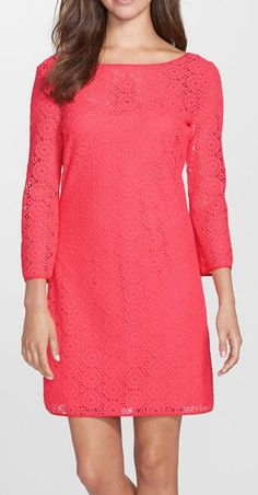 Lilly Pulitzer | 'Topanga' Lace Shift Dress