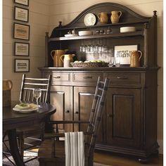 Down Home Hostess Credenza and Hutch by Paula Deen by Universal - Rotmans - China Cabinet Worcester, Boston, MA, Providence, RI, and New England