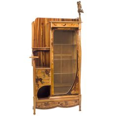 A French Art Nouveau Cabinet by, Louis Majorelle | From a unique collection of antique and modern vitrines at http://www.1stdibs.com/furniture/storage-case-pieces/vitrines/