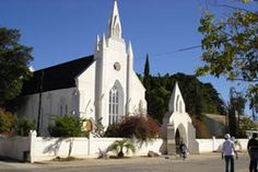 Dutch Reformed Church in Clanwilliam Church Building, Building A House, Church Architecture, Mosques, My Land, Old Buildings, Family History, Bridges, West Coast