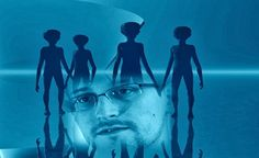 Edward Snowden Affirms: 'Aliens Are Behind the American Government'