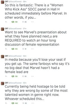 SDCC counter-scheduled against misogyny. | The 21 Most Amazing Things That Happened At Comic-Con This Year
