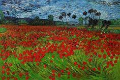 Vincent Van Gogh   field of poppies