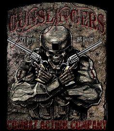 1st Infantry Division Gunslinger Shirt