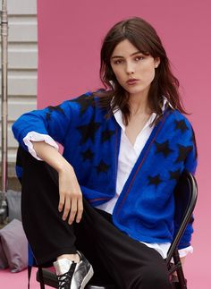 Explore Brora's Autumn Winter 2019 collection of clothing and luxury Scottish Cashmere. Shop the latest collection online and in store today. Cashmere, Alternative, Fall Winter, Bomber Jacket, Product Description, Stars, Luxury, Clothing, Jackets