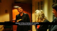 The Doctor taught me so many things....like always bring a banana :-)