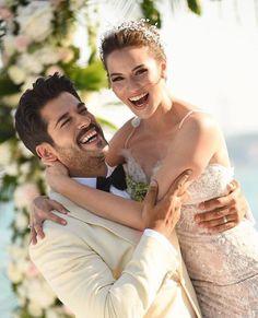 Fahriye Evcen & Burak Özçivit --- Turkish Actor and Actress