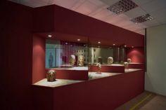 Sala Mundus Muliebris Busti e teste prevalentemente femminili (V-III sec. a.C.), scoperti nel santuario di Minerva.