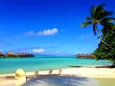 """@StudentUniverse #neverhaveiever written on the sands of an exotic beach.  """"To awaken quiet and alone in a strange town is one of the pleasantest sensations in the world."""" -Freya Stark   Would be nice to get awayyyy.....and write poems on the beach Bora Bora in Bora city, State of boras"""