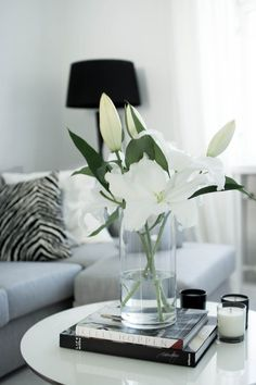 Lilies. My all time favourite flowers. Just a shame they smell so badly.