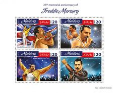 MLD16404a 25th memorial anniversary of Freddie Mercury (Freddie Mercury (1946-1991))