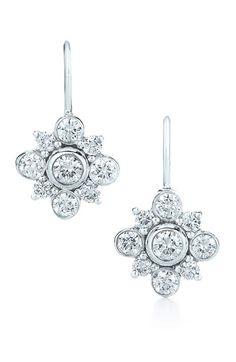 Kwiat 'Petal' Diamond & White Gold Drop Earrings | Nordstrom